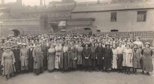 Mills Munitions Workers