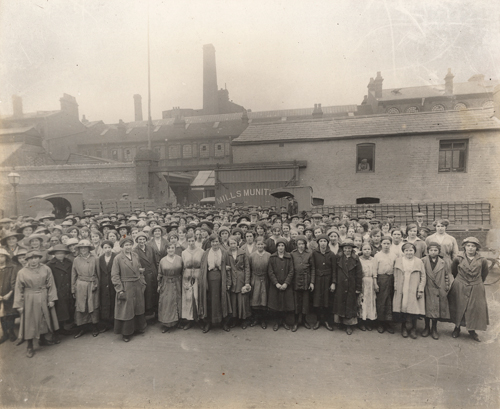 Mills Munitions Factory, Newtown [Library of Birmingham: WK/LV]