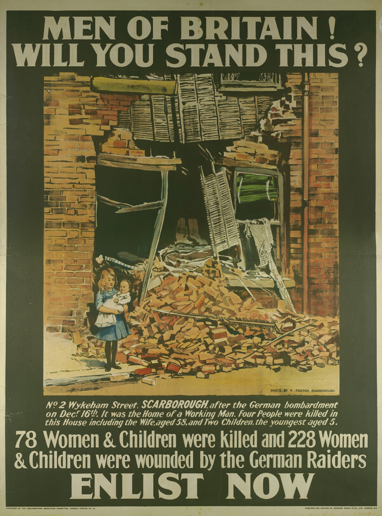Recruitment poster, 1915 [Library of Birmingham: LE]