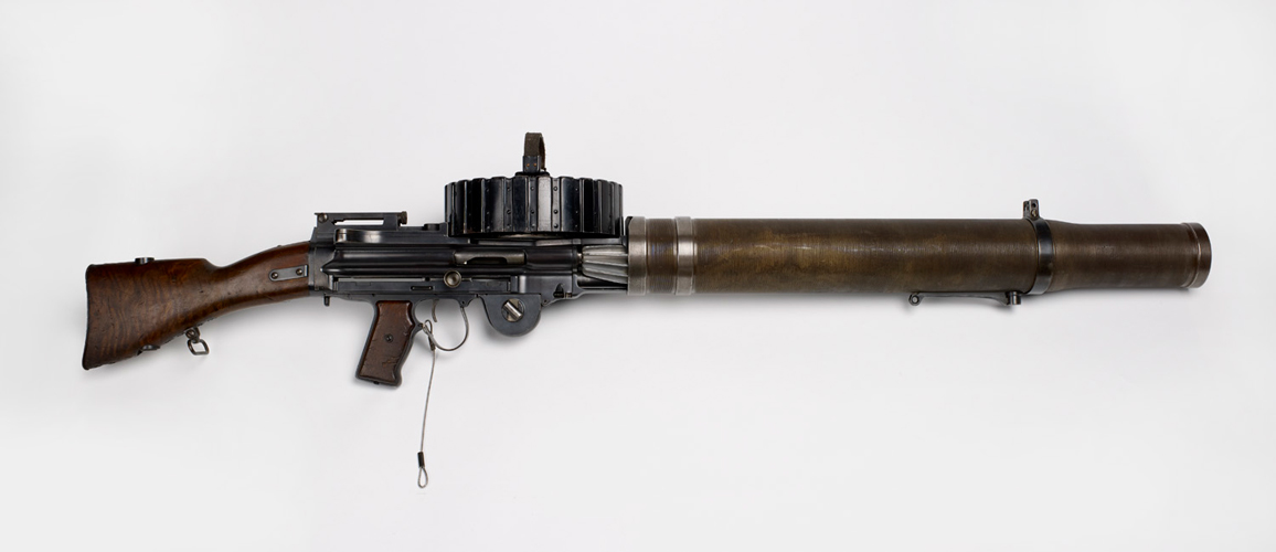Lewis Gun made by Birmingham Small Arms [Birmingham Museums: 1990S04182.39]