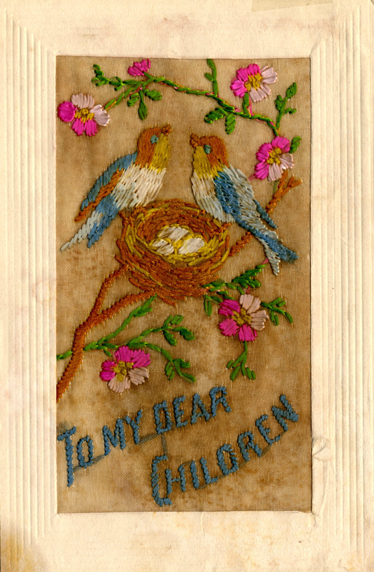Embroidered Postcard [WAVE: DX554]