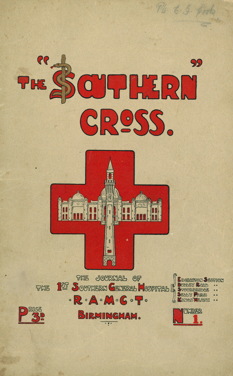 Issue 1 of The Southern Cross [University of Birmingham Special Collections: rR31-S9]