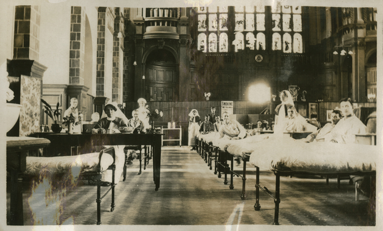Great Hall, University of Birmingham [Library of Birmingham: WW1/Hospitals]