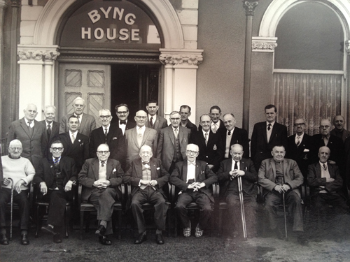 My Great Grandfather, front row third from left, at a reunion [Private Collection]