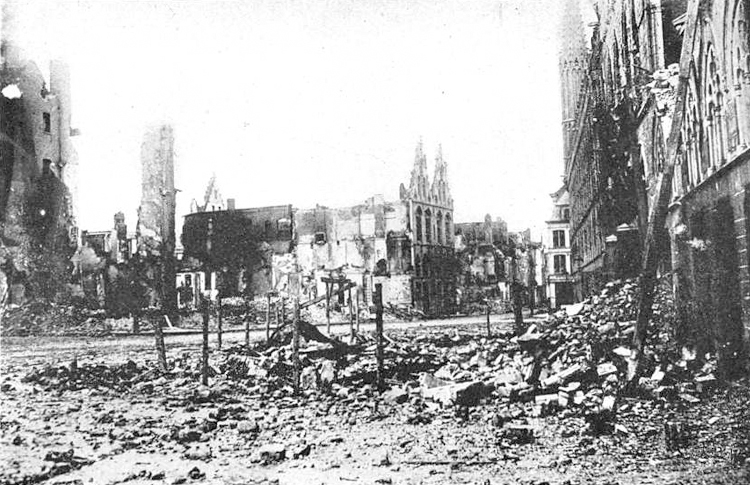 Ruins of Ypres [Creative Commons: Public Domain]