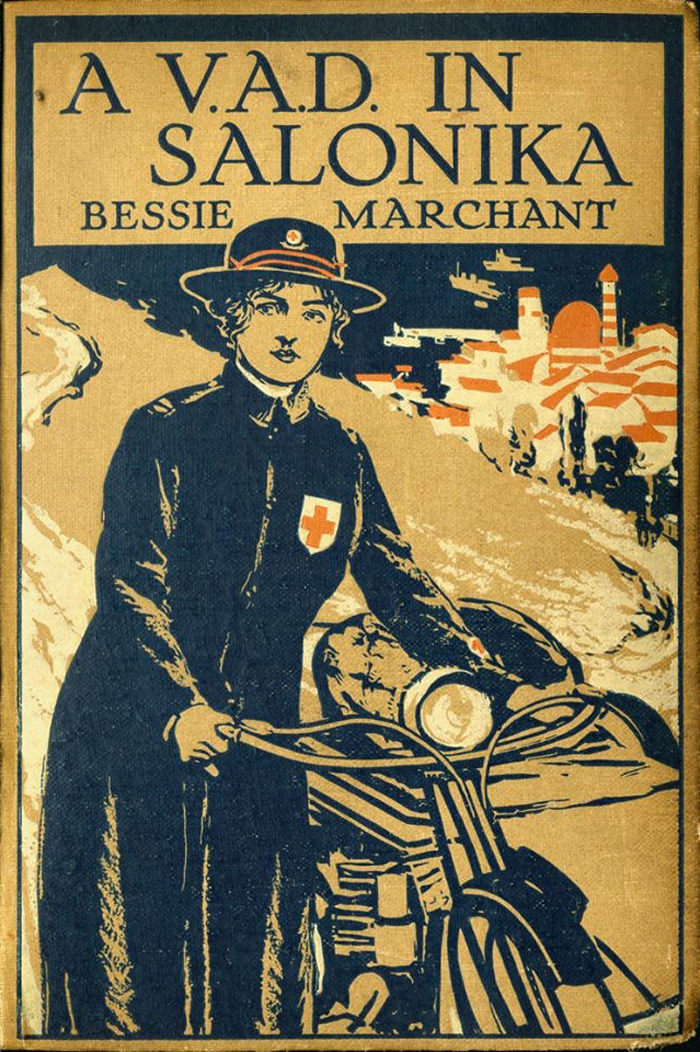 A V.A.D. in Salonika, by Bessie Marchant (1917). Illustrated by J.E. Sutcliffe.