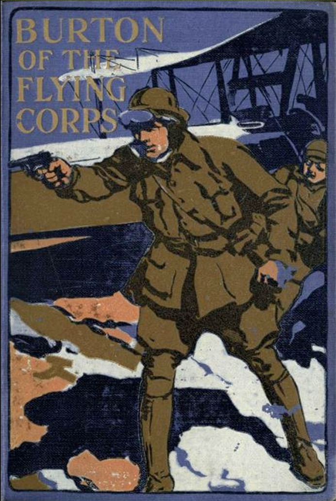 Burton of the Flying Corps, by Herbert Strang, 1916 [Image: Project Gutenberg]