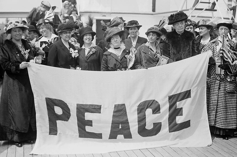 Women's Peace Conference, 1915 [Creative Commons]