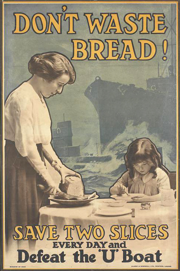 Ministry of Food Poster, 1917 [Imperial War Museum PST13354]