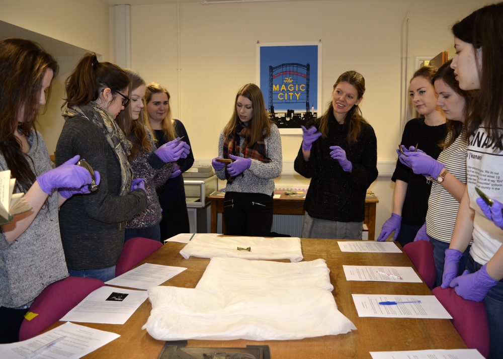 Photo: Research and Cultural Collections, University of Birmingham