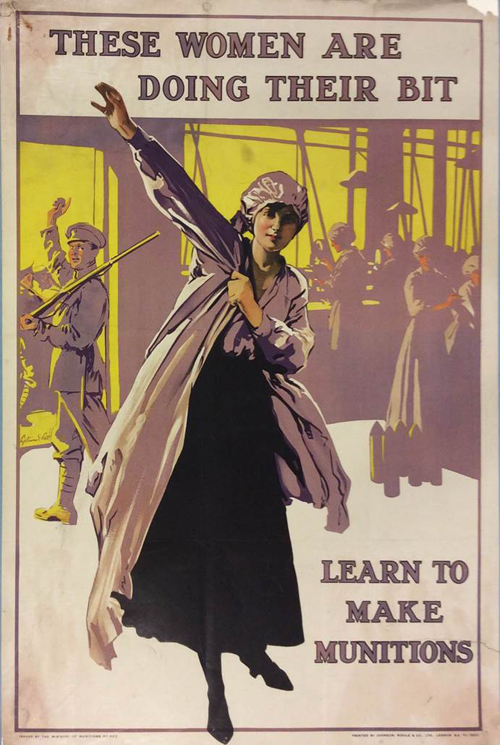 Ministry of Munitions Poster [Courtesy of The National Archives]