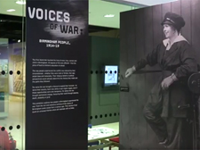 Voices of War Exhibition Library of Birmingham