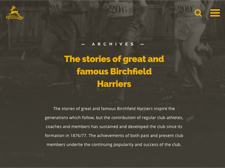 History and Heritage of Birchfield Harriers
